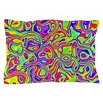 Rainbow Oil Psychedelic Pattern Pillow Case