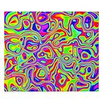 Rainbow Oil Psychedelic Pattern King Duvet