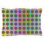 Psychedelic Rainbow Spots Pattern Pillow Case