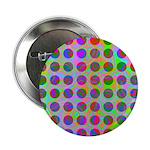 Psychedelic Rainbow Spots Pattern 2.25