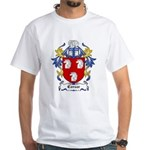 Corsar Coat of Arms White T-Shirt