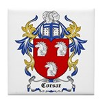 Corsar Coat of Arms Tile Coaster