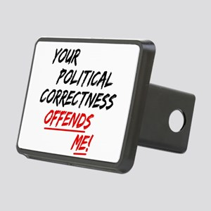 politicalcorrectness01 Rectangular Hitch Cover