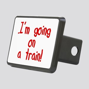 goingonatrain Rectangular Hitch Cover