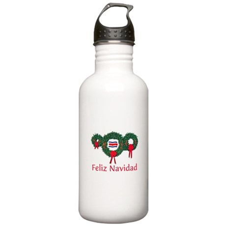 Costa Rica Christmas 2 Stainless Water Bottle 1.0L