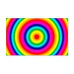 Rainbow Circles Pattern 20x12 Wall Decal