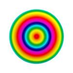 Rainbow Circles Pattern 3.5