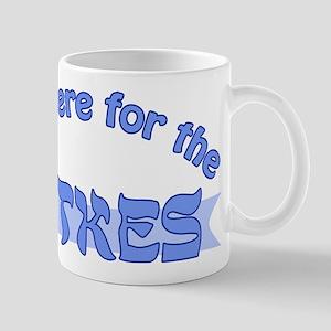 Here for the latkes Mug