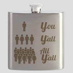 Texas Grammar Lesson Flask
