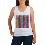 Rainbow Stars Pattern Women's Tank Top