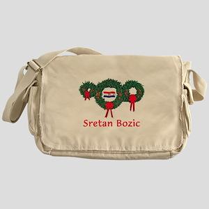 Croatia Christmas 2 Messenger Bag