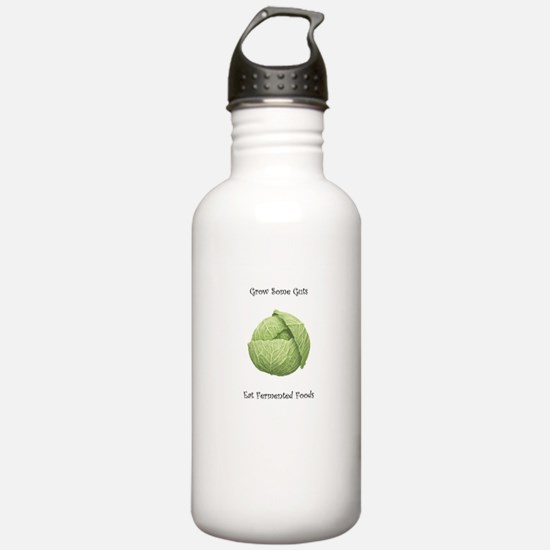 Eat Fermented Foods Water Bottle