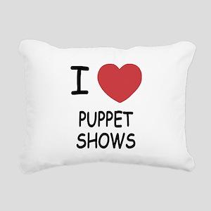 PUPPET_SHOWS Rectangular Canvas Pillow