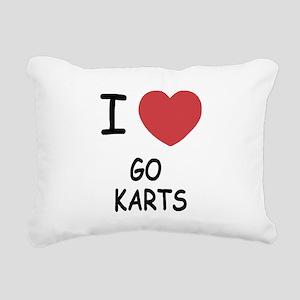 GO_KARTS Rectangular Canvas Pillow