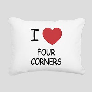 FOUR_CORNERS Rectangular Canvas Pillow