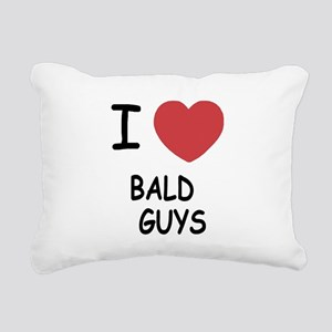 BALD_GUYS Rectangular Canvas Pillow