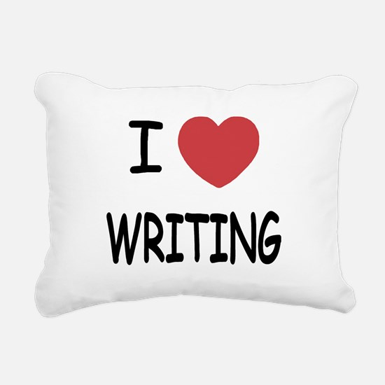 WRITING.png Rectangular Canvas Pillow