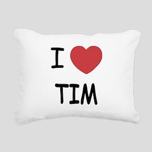 TIM Rectangular Canvas Pillow