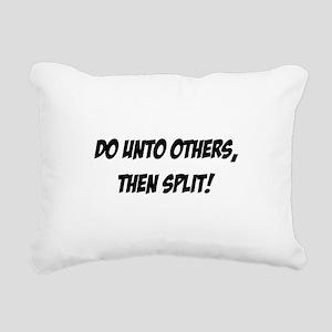 do_unto_others Rectangular Canvas Pillow