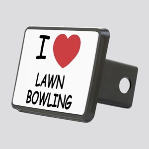 LAWN_BOWLING Rectangular Hitch Cover