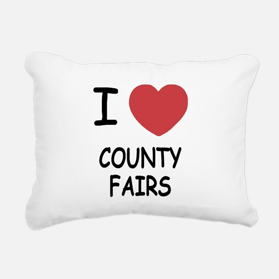 COUNTY_FAIRS.png Rectangular Canvas Pillow