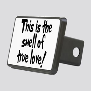smell_of_true_love Rectangular Hitch Cover