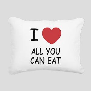 ALL_YOU_CAN_EAT Rectangular Canvas Pillow