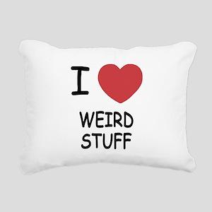 WEIRD_STUFF Rectangular Canvas Pillow