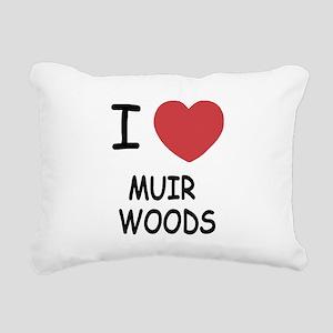 MUIR_WOODS Rectangular Canvas Pillow