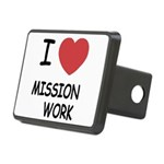 MISSION_WORK Rectangular Hitch Cover