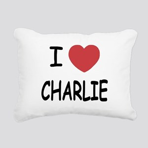 CHARLIE Rectangular Canvas Pillow