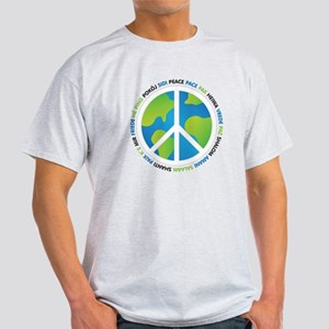 World Peace Sign Light T-Shirt