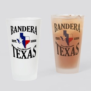 Bandera, Texas Drinking Glass