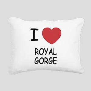 ROYAL_GORGE Rectangular Canvas Pillow