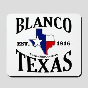 Blanco, Texas - Texas Hill Country Mousepad