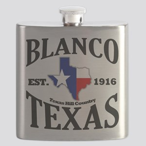 Blanco, Texas - Texas Hill Country Flask
