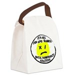 Fun & Games Canvas Lunch Bag