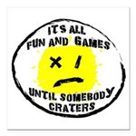 Fun & Games Square Car Magnet 3