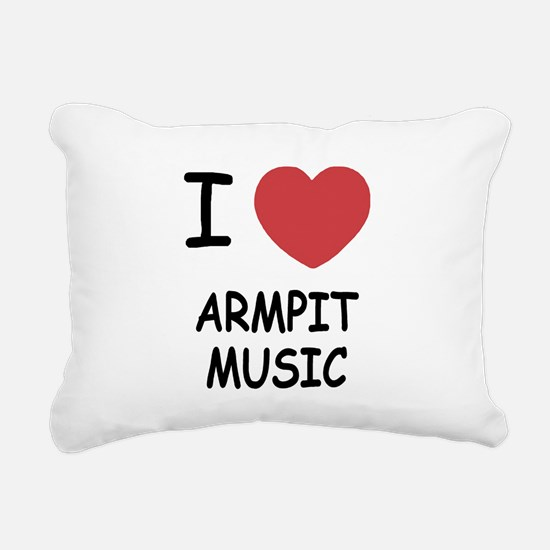 ARMPIT_MUSIC.png Rectangular Canvas Pillow