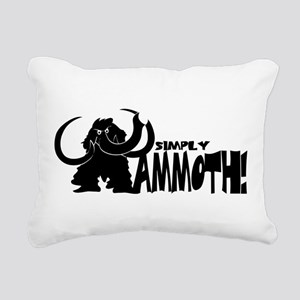 Simply Mammoth Rectangular Canvas Pillow