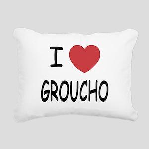 GROUCHO Rectangular Canvas Pillow