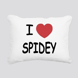 SPIDEY Rectangular Canvas Pillow