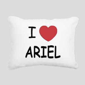 ARIEL Rectangular Canvas Pillow