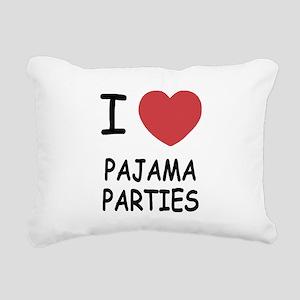 PAJAMAPARTIES Rectangular Canvas Pillow