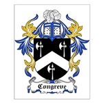 Congreve Coat of Arms Small Poster
