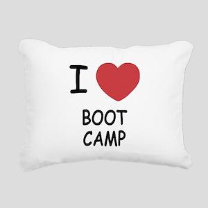 BOOTCAMP Rectangular Canvas Pillow