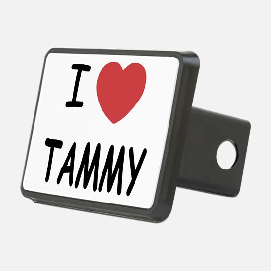 I heart TAMMY Hitch Cover