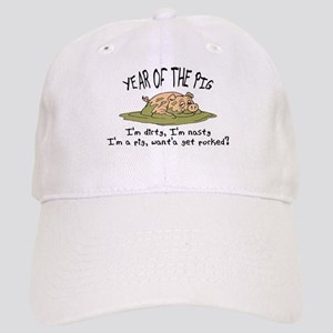 Funny Year of The Pig Cap