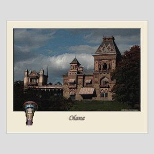 Olana Frederick Church Small Poster