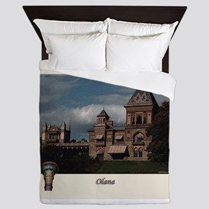 Olana Frederick Church Queen Duvet
